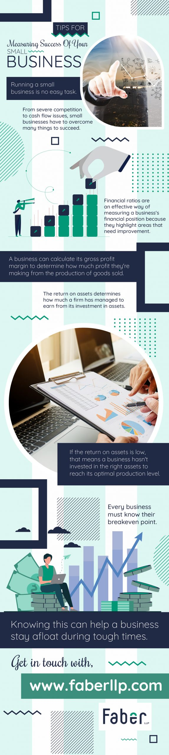 Tips for Measuring Success of your Small Business - Infograph